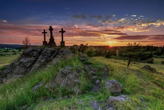 Tři kříže u Mariánských Lázní